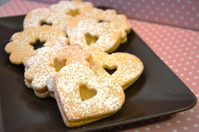 Galletas con Lemon curd