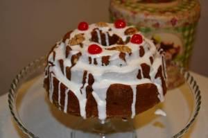 Torta Negra con glaseado