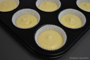 Cupcakes de limón y fresa