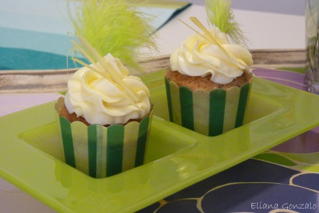 Lemon Curd cupcakes design