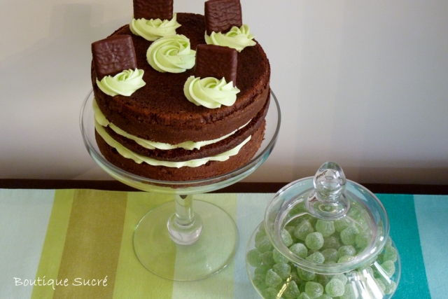 Choco Mint Layer Cake