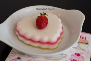 Corazón de gelatina de colores