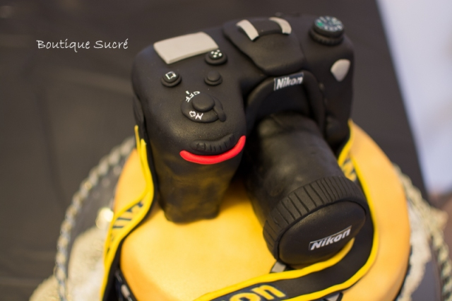 Tarta Camara Nikon