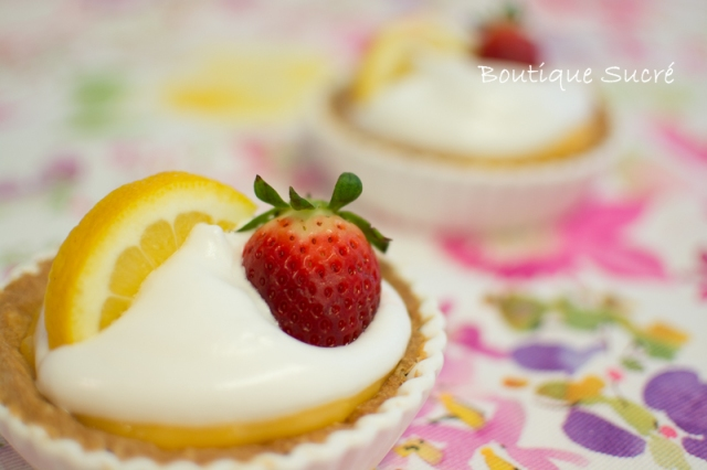 Tartaletas de Lemon Curd y Merengue