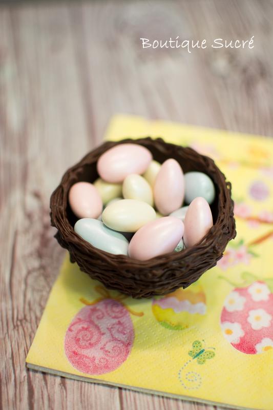 Nidos de Chocolate para Pascua