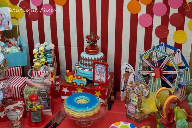 Gelatina Circus Party