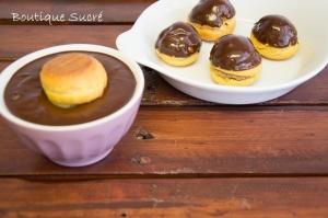 Nake Cake de Chocolate y Crema de Café