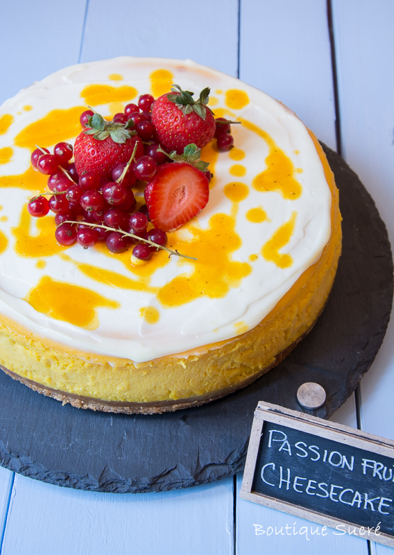 Passion Fruit Chessecake