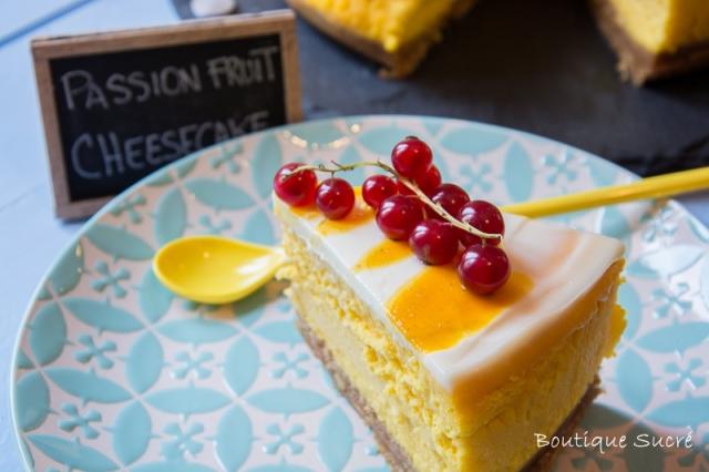 Passion Fruit Chessecake