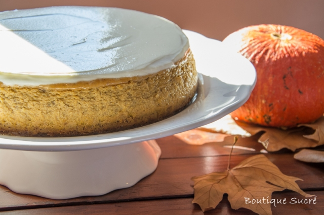 Spicy Pumpkin Cheesecake
