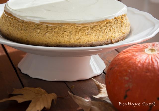 Spicy Pumpkin Cheesecake