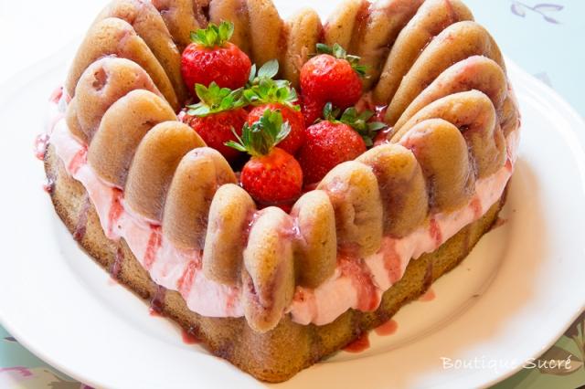 Tarta de Cava y fresas