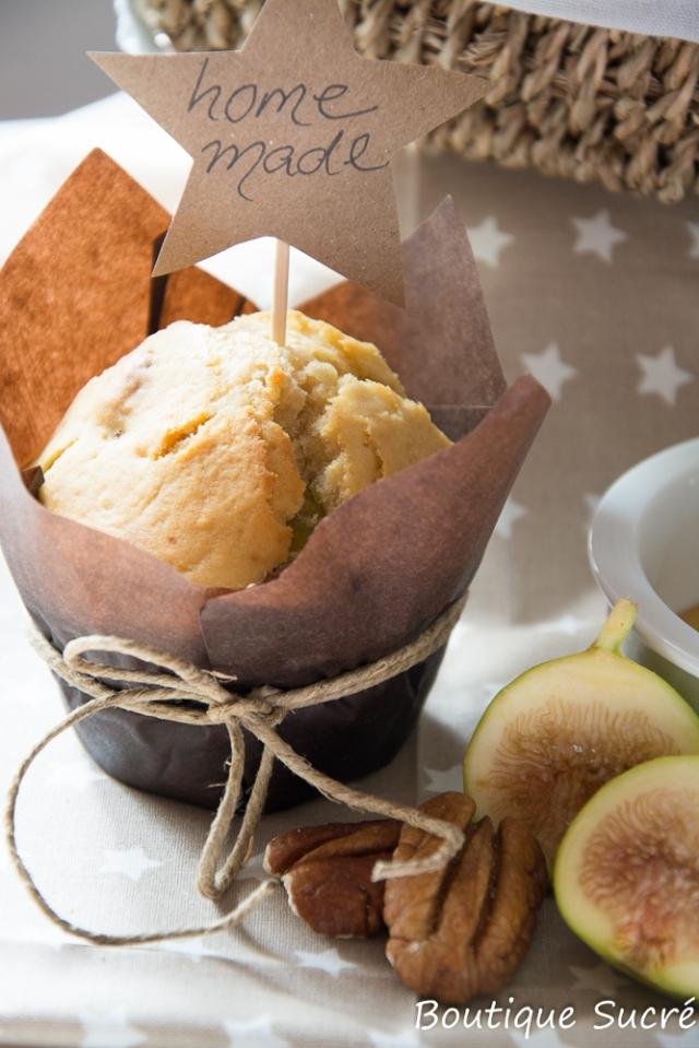Muffins de Miel y Nueces