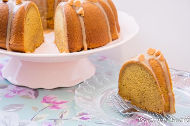 Bundt Cake de Calabaza y Butterscot