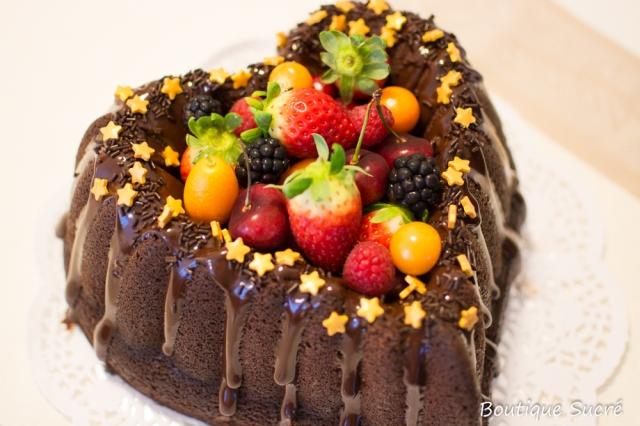 Bundtcake de Chocolate y Naranja