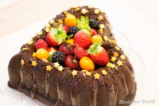Bundt Cake de Chocolate, Naranja y cointreau.