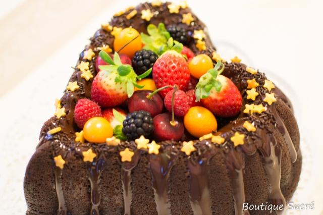 Bundt de Chocolate, Naranja y Cointreau