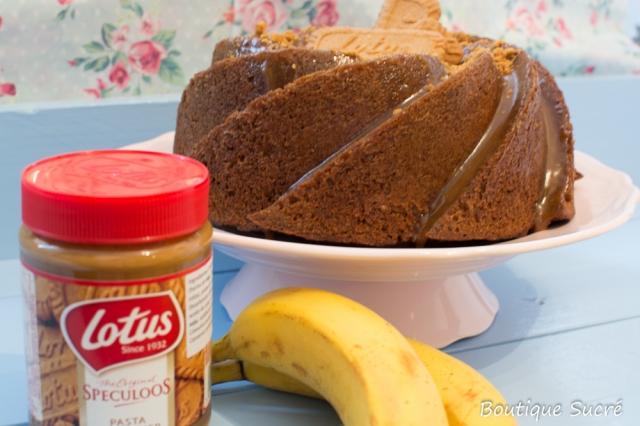 Bundt Cake de Banana y Speculoos.